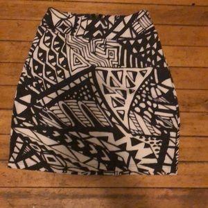 American apparel tube skirt. Silence & noise brand